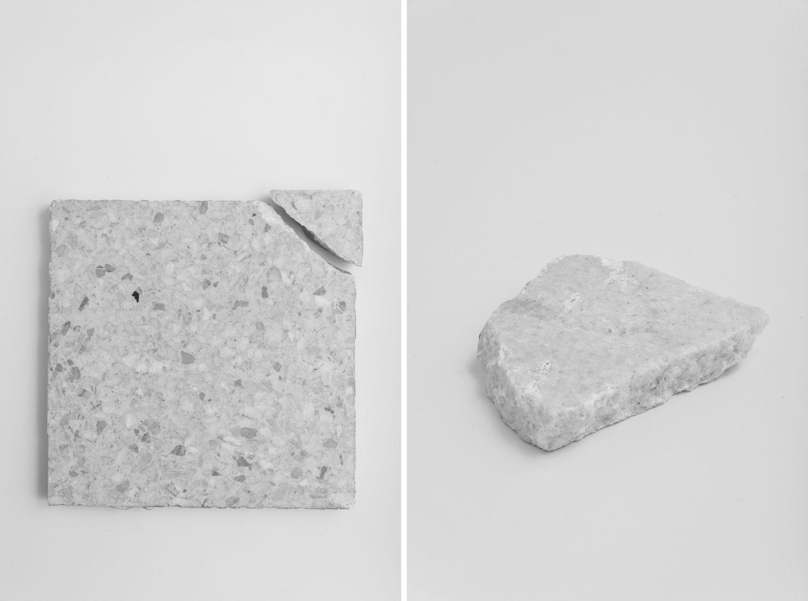 Floor tiles from Emilia pavilion in Warsaw, designed by Marian Kuźniar, Czesław Wegner, Hanna Lewicka, 1966-69. Photo Kuba Rodziewicz/RZUT, 2019