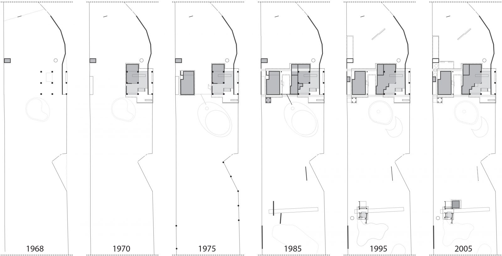 Analysis of the expansion of the house in Szumin, 2013